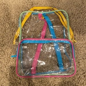 Clear Plastic Backpack!